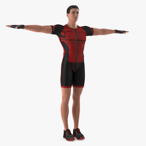 3D fitness trainer t-pose