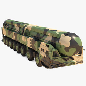 icbm launch vehicle generic model
