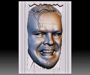 3D portrait bas-relief based photo