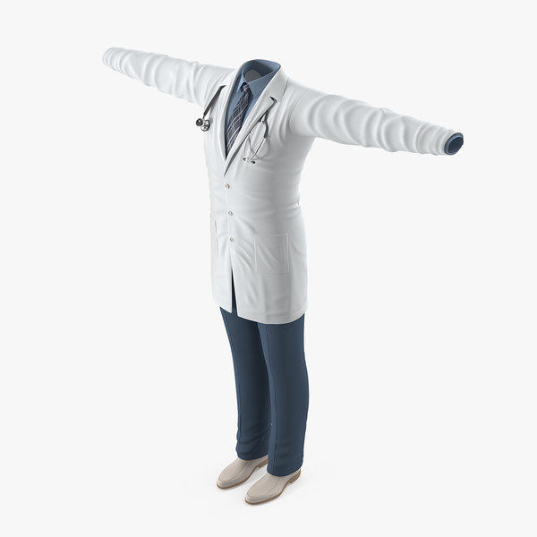 3D doctor clothes