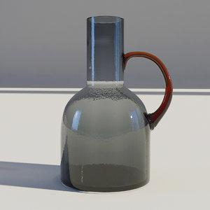 glass ewer 3D model