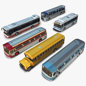 generic bus 3D model