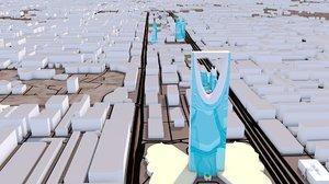 riyadh city 3D