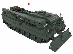 leopard bergepanzer 3 model