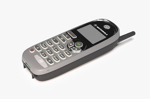 motorola cell phone 3D
