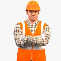 Worker Standard 2020 Rigged