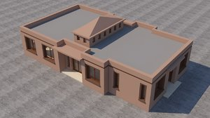 3D moroccan house