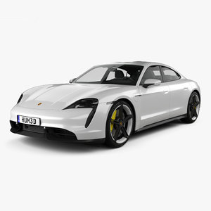 porsche taycan turbo 3D model