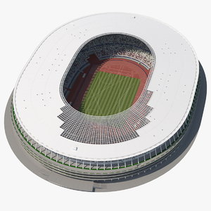 new national olympic stadium 3D