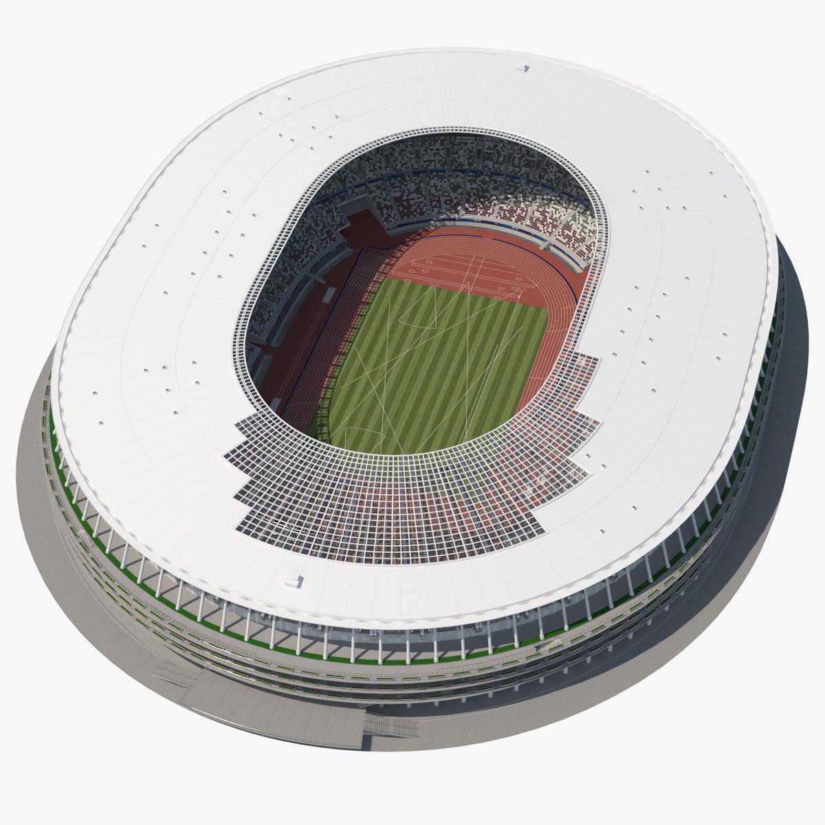 new national olympic stadium 3D