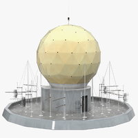 Round Radar Tower Antenna