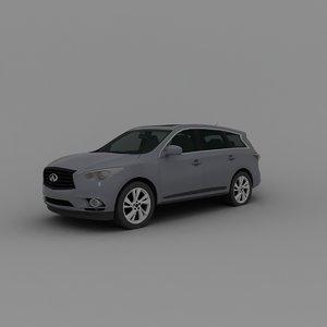 3D model car suv automobile