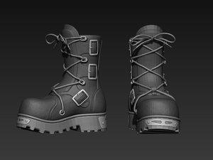 boots basemesh model