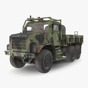 military cargo truck oshkosh 3D model