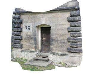 3D photoscan entrance model