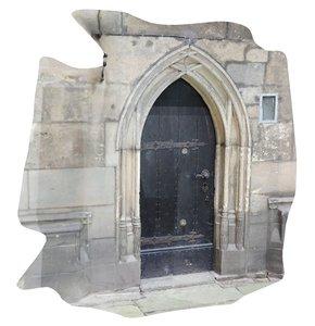 3D model photoscan old church