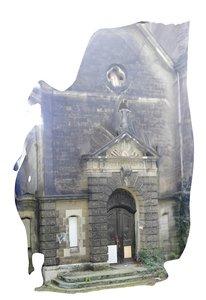 3D model photoscan church
