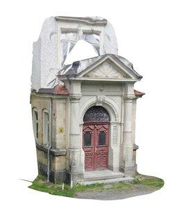 photoscan old entrance 3D model