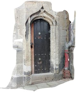 3D photoscan old entrance model