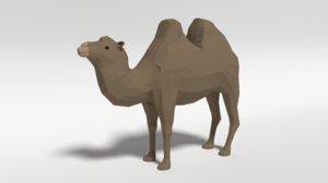 bactrian camel 3D model