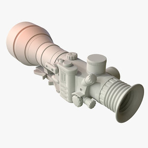 night vision weapon sight model