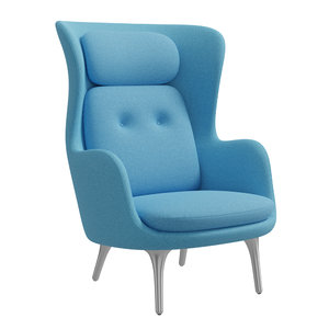 3D model armchair pbr
