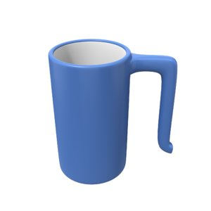 3D beer mug
