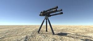 3D heavy sentry gun
