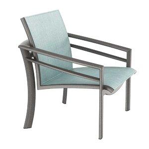 chair kor sling lounge 3D model