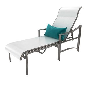 3D tropitone kenzo sling chaise lounge