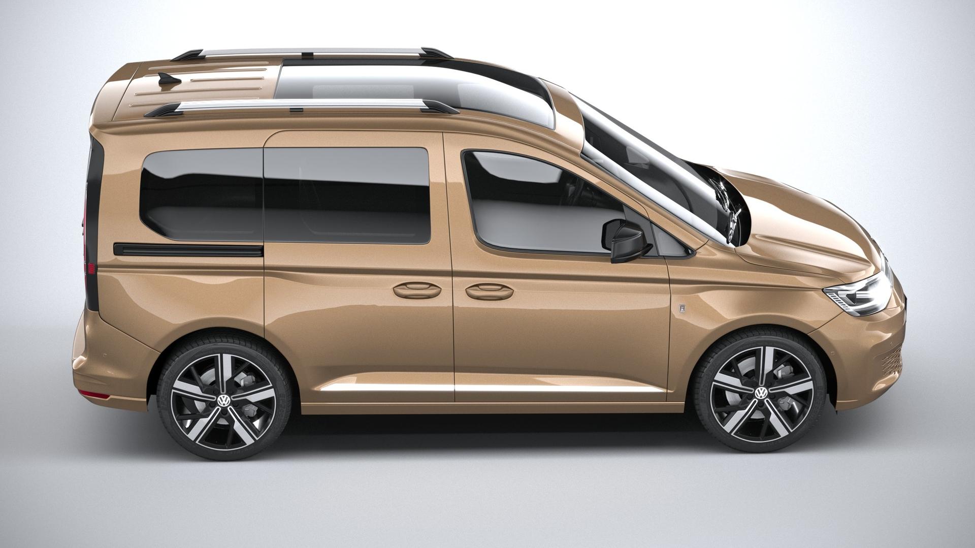 3D model volkswagen caddy 2021 - TurboSquid 1518346