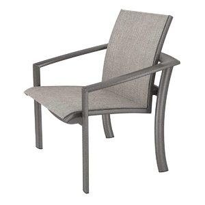 chair kor relaxed sling 3D model