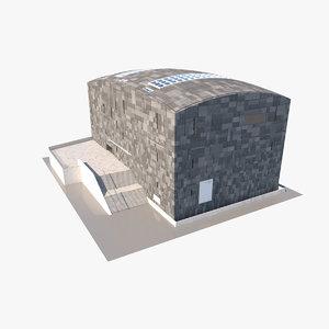 3D model mumok museum vienna moderner