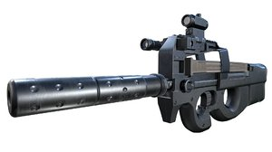 fn weapon 3D model