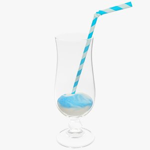 3D smoothie milkshake