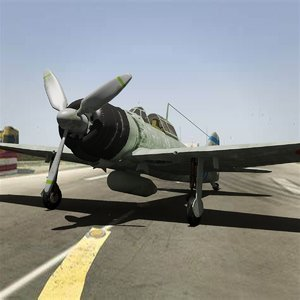 zero fighter plane 3D model