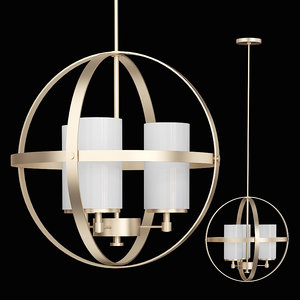 alturas chandelier sea gull 3D