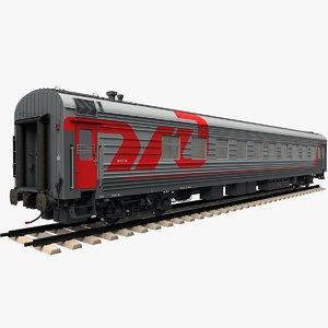 passenger car 61-4179 3D