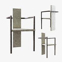 Jonas Bohlin concrete chair
