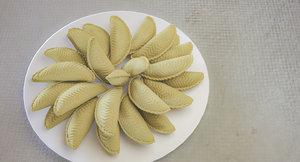 3D sekerbura azerbaijan national cake