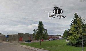 3D little bird helicopter