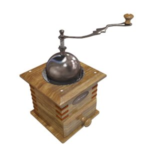 3D coffee coffe model