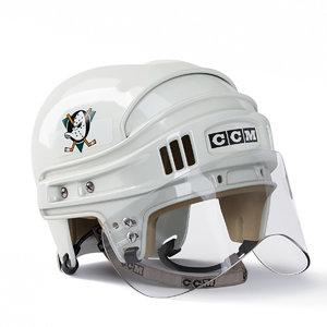 realistic ducks ccm hockey helmet model