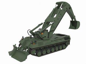 gepanzerte gpm 3D model