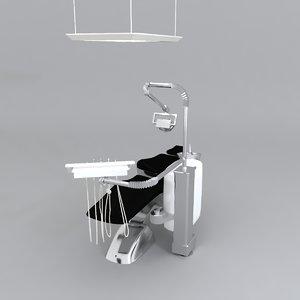 stomatologic equipment 3D model