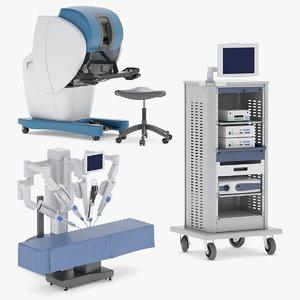 3D robotic surgical