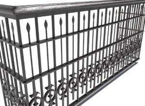 3D railing - balcony 2