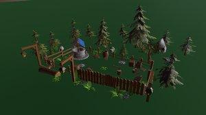 asset games 3D