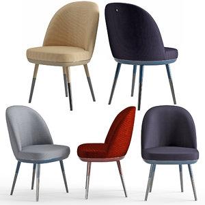 3D model chair sabrina