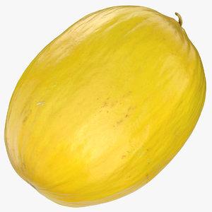 canary melon 01 3D model